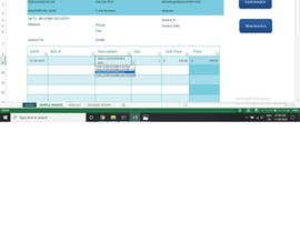 #10 for Build an invoice form that I can reuse in excel af RashmiAgarwal09