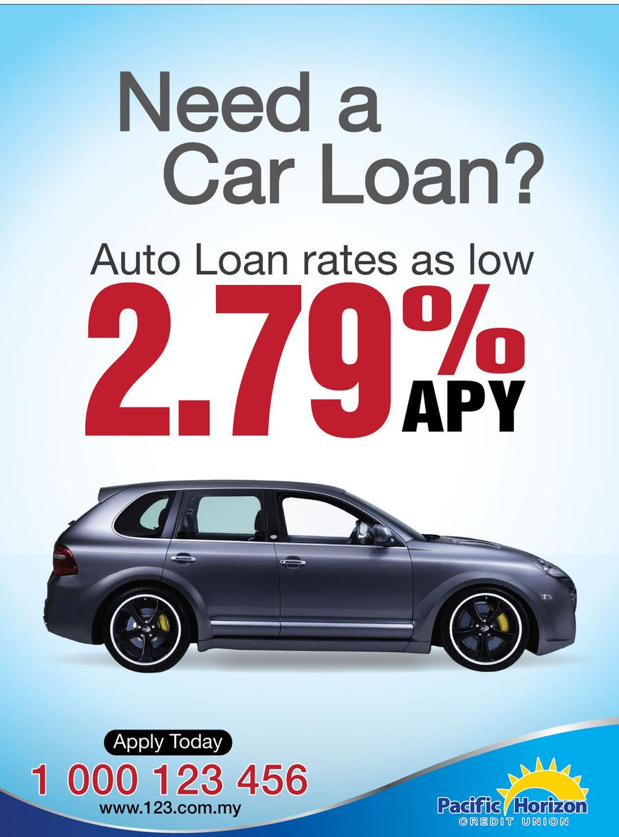 Bài tham dự cuộc thi #6 cho Flyer Design for Auto Loan Ad