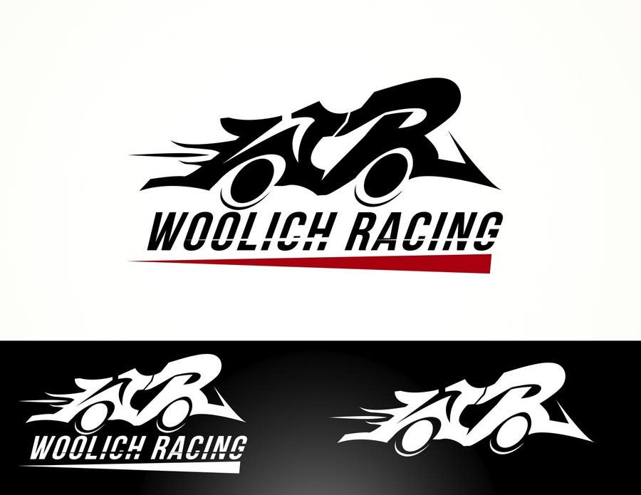 Entry #94 by Eviramon for Logo Design for Woolich Racing | Freelancer