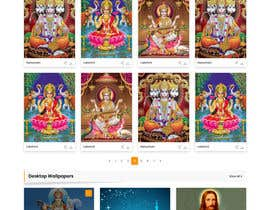 #26 для Require a fantastic design for spiritual wallpapers website от webhazrat