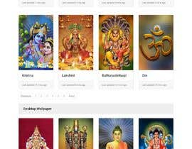 #17 для Require a fantastic design for spiritual wallpapers website от Haider501
