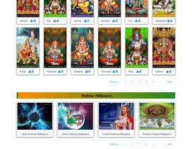 #23 для Require a fantastic design for spiritual wallpapers website от jonisutradhor