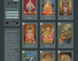 #30 для Require a fantastic design for spiritual wallpapers website от Nartan99
