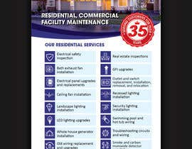 nº 18 pour Build a Residential Electrical Flyer par ssandaruwan84
