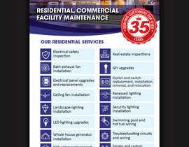 nº 24 pour Build a Residential Electrical Flyer par ssandaruwan84