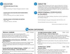 #15 for Need to convert the attach word document CV for Mr. Alqaheri to an informative Info-graphic CV. See also attached PDF example of personal profile that I like. by MMSimon