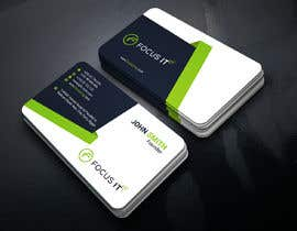nº 171 pour design business card for IT company par sadiksufia