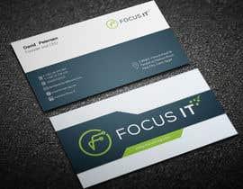 nº 437 pour design business card for IT company par KamranAdor