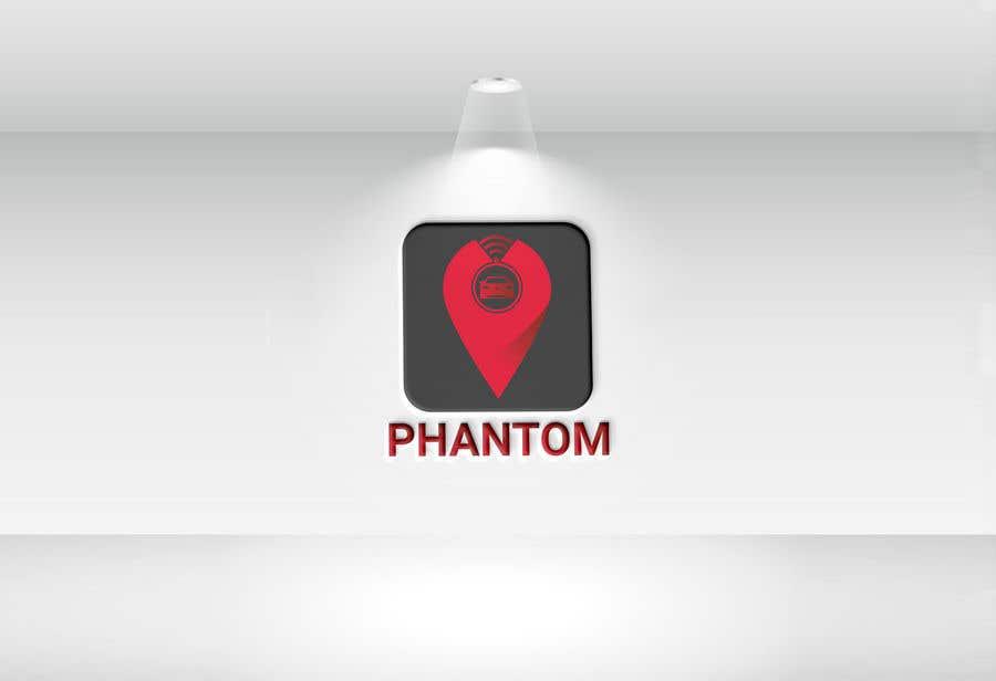 """Inscrição nº 143 do Concurso para I need to develop brand logo for the GPS tracking system """"Phantom"""""""