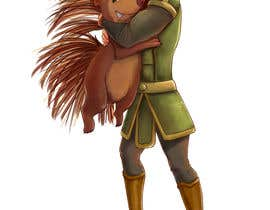 #118 cho Creative art of someone wearing battle armor hugging a porcupine. Artwork Illustration bởi jolar0143