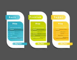 #10 for Design pricing table by MalakMedhat96