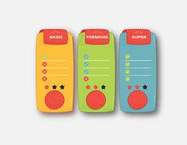 #24 for Design pricing table by AnandAlpha4ever