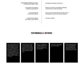 #6 für Website design HOME page   MOCK von milanakdesign