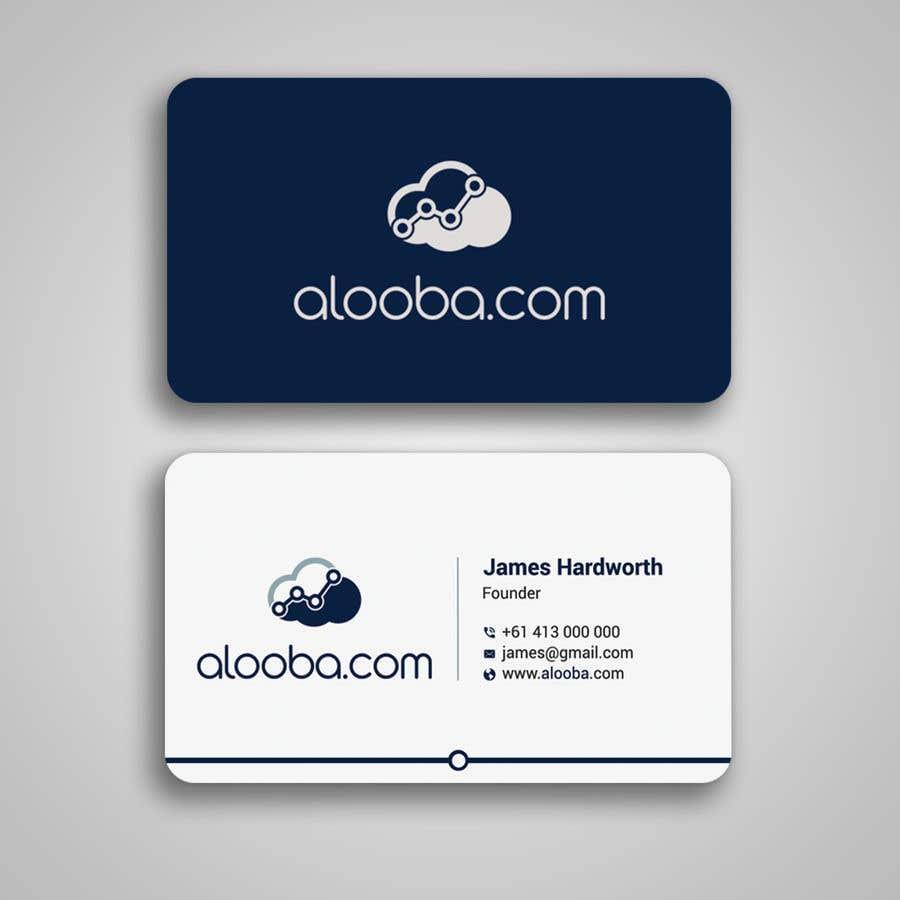 Konkurrenceindlæg #105 for Design some business cards
