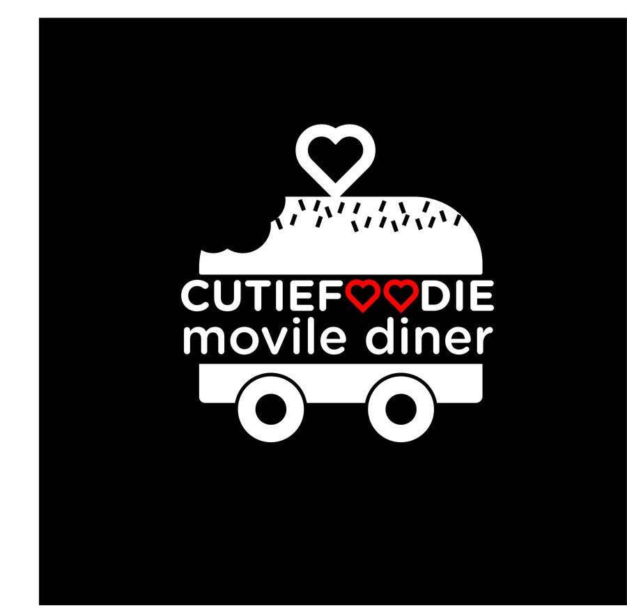 Конкурсная заявка №35 для CutieFoodie Mobile Diner branding