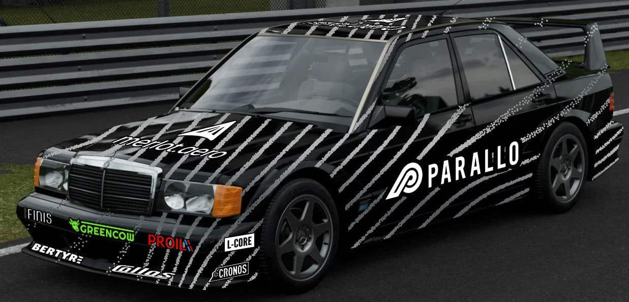 Конкурсная заявка №2 для RRally / Race car graphic design for logos