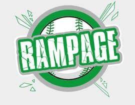 nº 11 pour Softball Team Logo par JohnGoldx