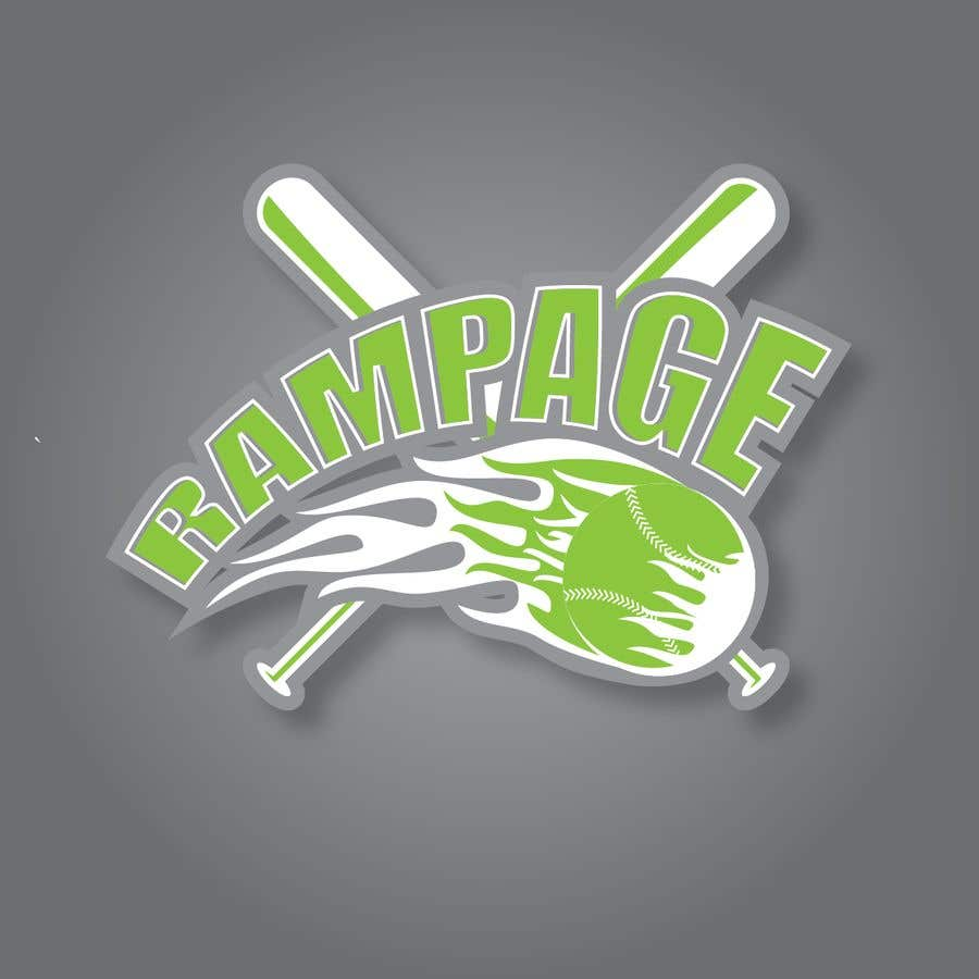Penyertaan Peraduan #2 untuk Softball Team Logo