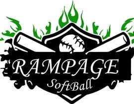 nº 5 pour Softball Team Logo par muneeb1108