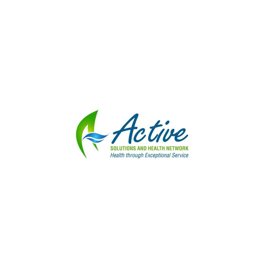 Konkurrenceindlæg #12 for Logo Design for Active Solutions and Health Network