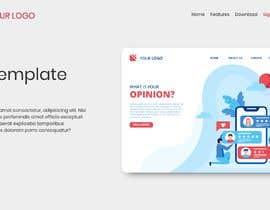 #12 для Design Landing Page for free Template Download від muhammadzihad7