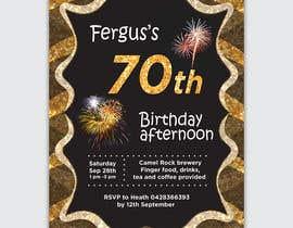 #12 для 70th birthday invite від ericssoff