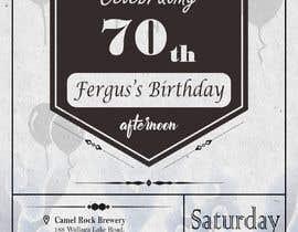 #21 для 70th birthday invite від RenggaKW