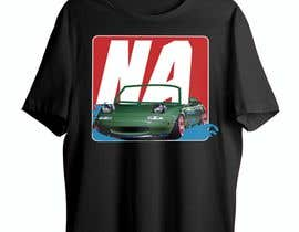 #36 for Car T-Shirt Design by Asadul1979