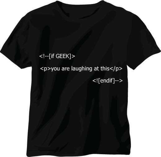 Zgłoszenie konkursowe o numerze #651 do konkursu o nazwie Need Ideas and Concepts for Geeky Freelancer.com T-Shirt