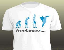 #490 para Need Ideas and Concepts for Geeky Freelancer.com T-Shirt por jadinv