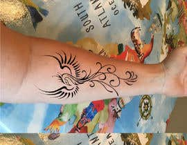 #51 cho A tattoo design for my forearm, to incorporate the scars, not cover them. Possibly something like a phoenix rising. I would like it to be delicate and feminine. I went through a dark time but have come out stronger. Scars show the battles we survived. bởi hossaingpix