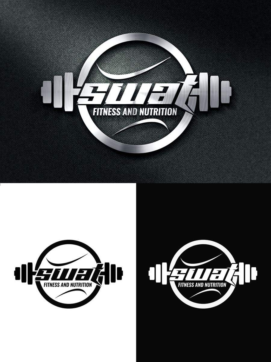 Penyertaan Peraduan #24 untuk SWAT fitness and nutrition logo needed