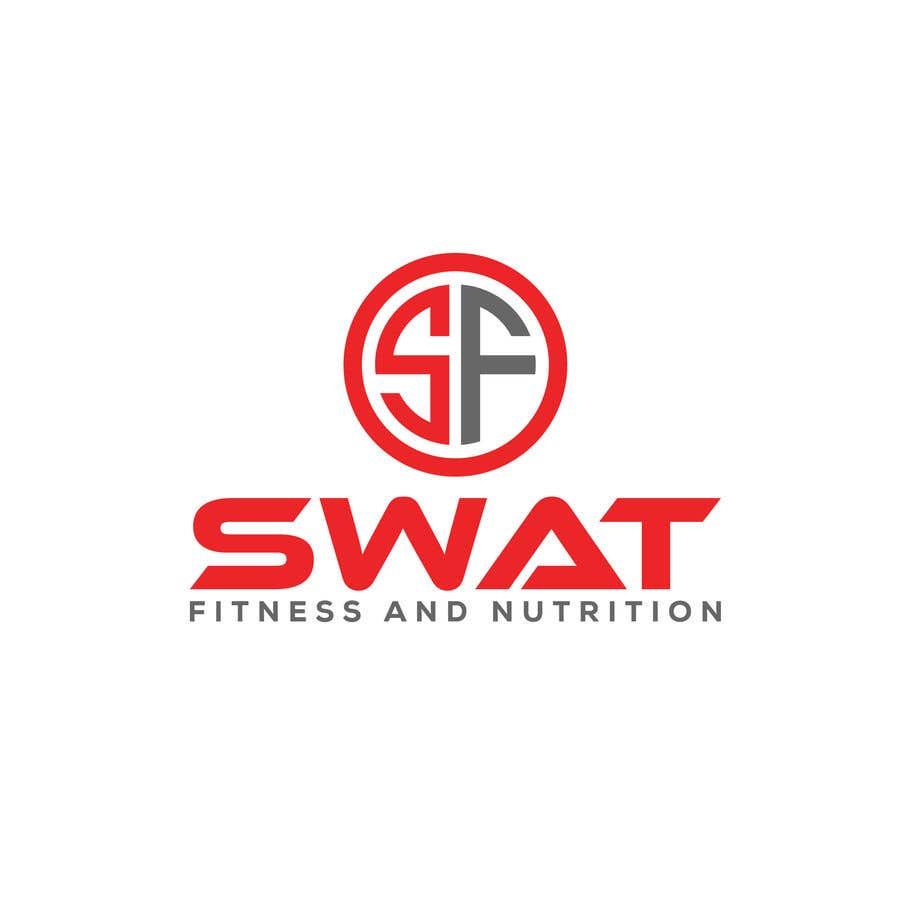 Penyertaan Peraduan #35 untuk SWAT fitness and nutrition logo needed