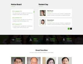 #19 for Graphic redesign of landing page by mdbappei
