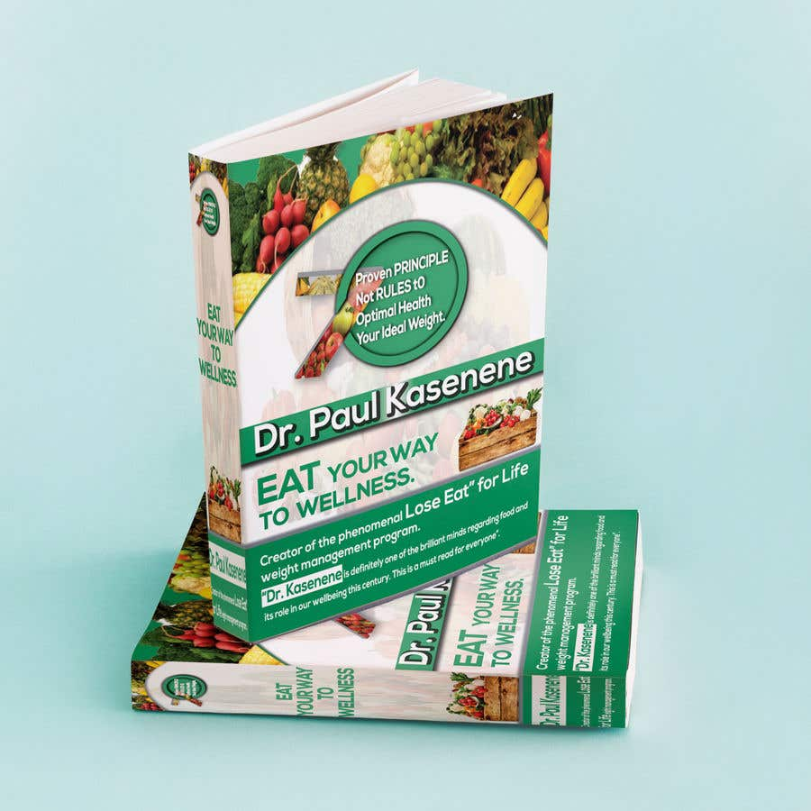 Proposition n°30 du concours Book cover design for a healthy eating book