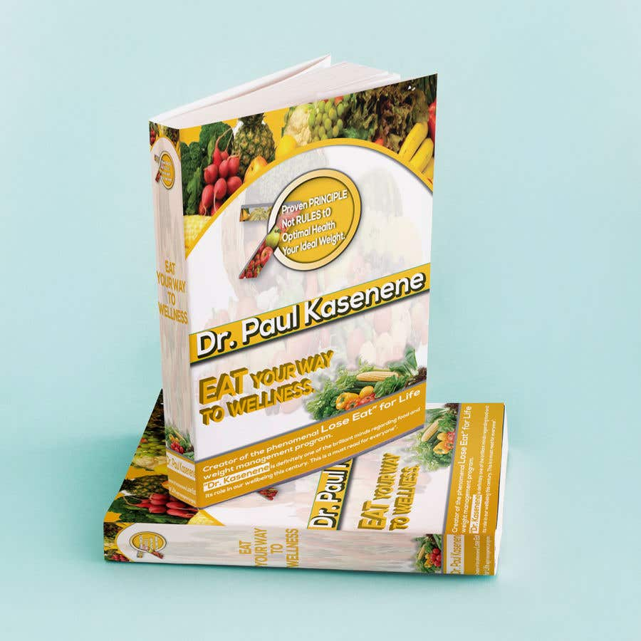 Proposition n°40 du concours Book cover design for a healthy eating book