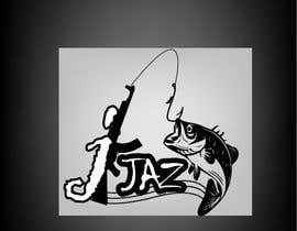 #8 for J-JAZ    Logo design /looking for the J to be like a sharp fish hook & if you can add a machine gun (maybe bend the machine gun to the shape of J) high quality logo.  black and white colors (black and white camouflage) by towhidrev