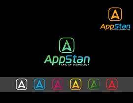 """#206 untuk LOGO DESIGN FOR THE BRAND NAME """"APPSTAN"""" oleh aulhaqpk"""