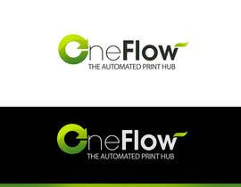pinky님에 의한 Logo Design for Precision OneFlow the automated print hub을(를) 위한 #115
