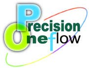 Graphic Design Конкурсная работа №86 для Logo Design for Precision OneFlow the automated print hub