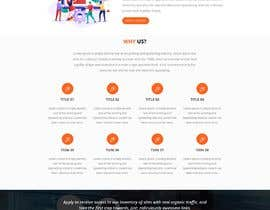 #20 for Design a Mockup of Homepage for a SEO Services Provider by pariharshailesh4