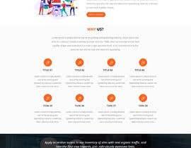 #20 для Design a Mockup of Homepage for a SEO Services Provider от pariharshailesh4