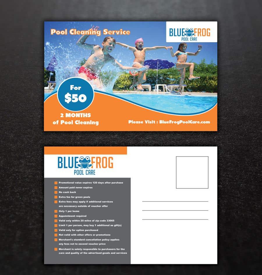 Bài tham dự cuộc thi #53 cho Pool Card Design