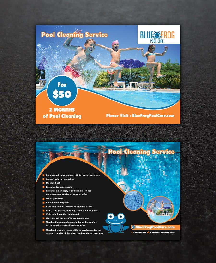 Bài tham dự cuộc thi #63 cho Pool Card Design