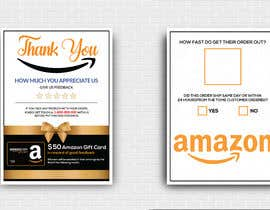 #43 untuk make me a Feedback flyer for my amazon orders oleh MdMoinUddin13