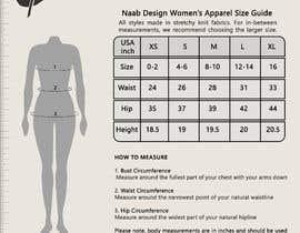 #1 for Size guide design af mustafa8892