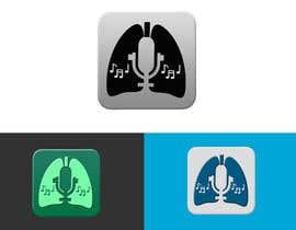 nº 29 pour Design a Logo for Singers Breathing Appliction par nyomandavid