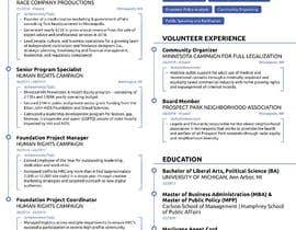 #17 for design resume (simple) by sheraz27