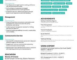 #18 for design resume (simple) by sheraz27