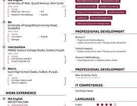 #20 for design resume (simple) by sheraz27